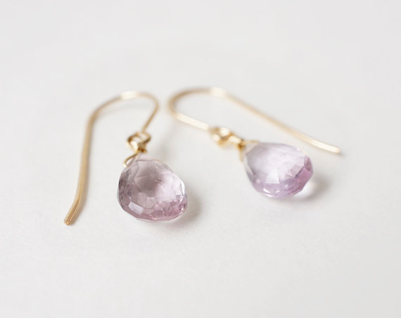 Little Amethyst Earrings