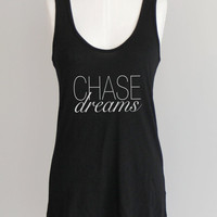 Chase Dreams Eco Friendly Pima Modal Racerback Tank