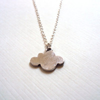 Cloud Necklace, Antique Silver - Summer