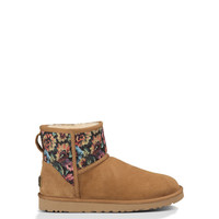 UGG® Classic Mini Floral Grunge for Women   Free shipping at UGGAustralia.com