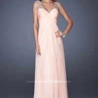 2014 La Femme Empire Waist Prom Dress 20122