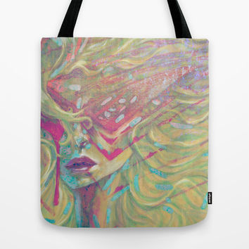 Cyber Flair Tote Bag by Ben Geiger