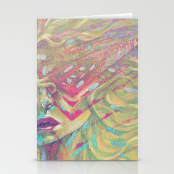 Cyber Flair Stationery Cards by Ben Geiger