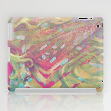 Cyber Flair iPad Case by Ben Geiger