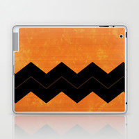 Halloween Chevron Laptop & iPad Skin by Kat Mun | Society6