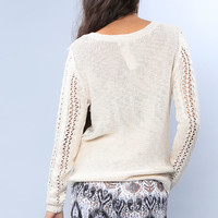 Lacy Chunky Sweater
