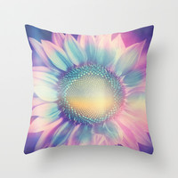 Pretty thing. Throw Pillow by Viviana Gonzalez