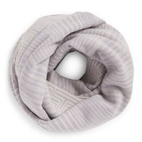 Tory Burch Striped Merino Infinity Scarf