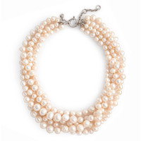 FRESHWATER PEARL HAMMOCK NECKLACE