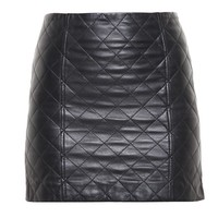 LOVE LEATHER | Quilted Leather Mini Skirt | Browns fashion & designer clothes & clothing