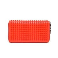 CHRISTIAN LOUBOUTIN | Spiked Panettone Calf Leather Wallet | Browns fashion & designer clothes & clothing