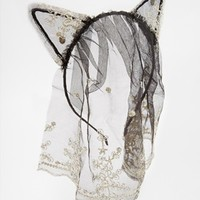 ASOS Lace Ears With Veil