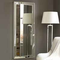 Park Mirrored Wall-Mount Jewelry Closet