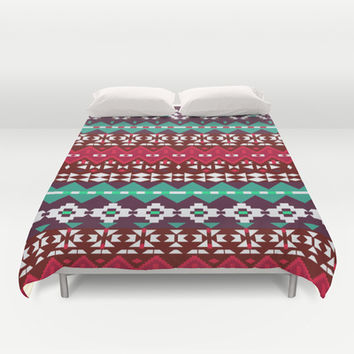 Mix #520 Duvet Cover by Ornaart | Society6