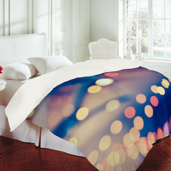 DENY Designs Home Accessories | Shannon Clark Pretty Lights Duvet Cover