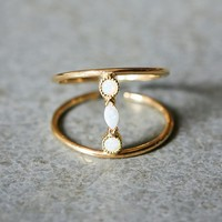Katie Diamond Womens Adelaide Ring - Gold