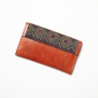 Free People Womens Indiana Wallet - Brown One