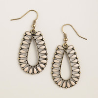 Blush Pink and Gold Drop Earrings - World Market