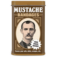 Mustache Bandages         197892950 | Novelties & More | Tillys.com