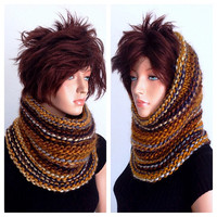 Isaac Mizrahi Hand Knitted Cowl in East End
