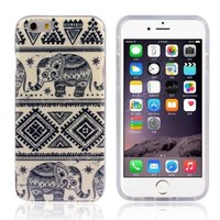 Bessky(TM) Hot Sell 4.7inch Soft TPU Case Cover For iPhone 6 6G (Blue Elephant)
