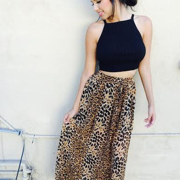 Sienna Cheetah Skirt
