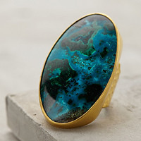Land & Sea Ring by Heather Benjamin Turquoise 8 Jewelry