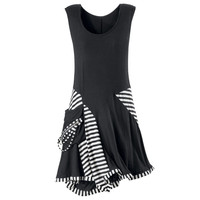 Florence Striped Dress                             - New Age & Spiritual Gifts at Pyramid Collection