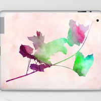 Maple2_Watercolor Laptop &amp; iPad Skin by Garima Dhawan | Society6
