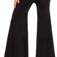 Belly Dance Glitter Flare Pants - Belly Dance Pants Flares - Dance Pants - La Reina Goddesswear