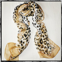Cheetah Print/ Animal Print Scarf