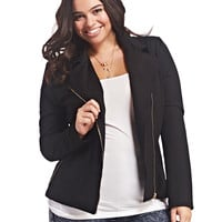 Soft Moto Jacket | Wet Seal+