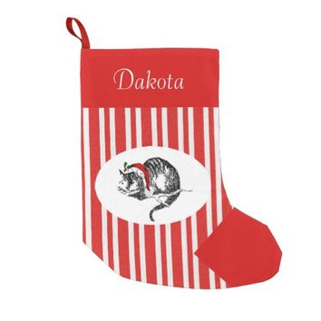 Alice in Wonderland Personalized Cat Stocking