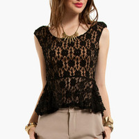 Laced Without You Top