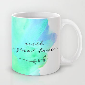 do small things with great love Mug by Sylvia Cook Photography