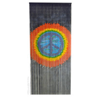 Tie Dye Peace Door Beads on Sale for $39.99 at HippieShop.com