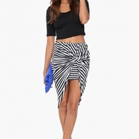 Zoe Stripe Maxi Skirt