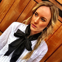 Women's Neck Bow Tie