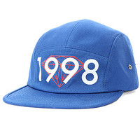 Brilliant 1998 5 Panel Hat in Royal - One Size / Blue