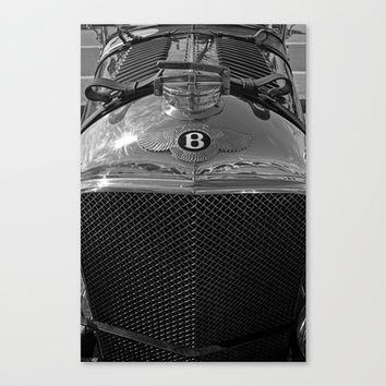 1928 Bentley - MP 2219 Canvas Print by Alice Gosling