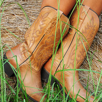 RESTOCK: Ride With You Boots: Tan