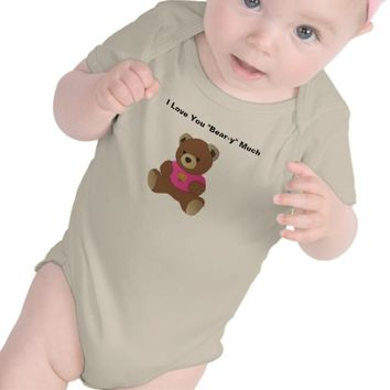 """I Love You Bear-y"" Much"" Infant/Toddler Outfit"