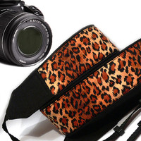 Cheetah Camera Strap.  Dslr Camera Strap. Camera Accessories