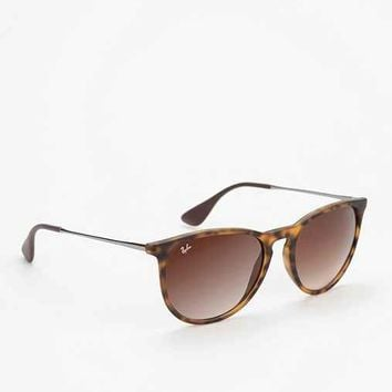 Ray-Ban Erika Sunglasses- Brown One
