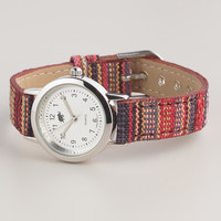 Fall Tribal Fabric Watch - World Market