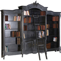 Boho Noir bibliotheque