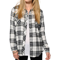 Empyre Black & Grey Flannel Shirt