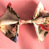 Floral Hair Bow