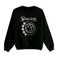 Blink-182 Smiley Logo Crewneck Sweatshirt
