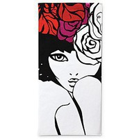 "Bloomingdale's ""The Girl"" Beach Towel - Beach Towels - Bloomingdales.com"